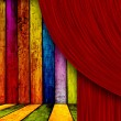Theatrical Background — Stockfoto