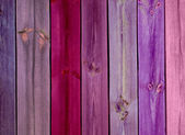 Colorful Wood Planks — Stock Photo