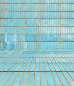 Blue Tiled Background — Stock Photo