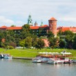 Panorama of the Krakow city — Stock Photo