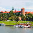 Stock Photo: Panorama of the Krakow city