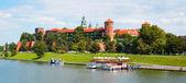 Panorama of the Krakow city — Stock Photo