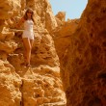 Hiking in the desert — Stock Photo #1579948
