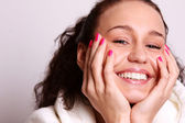 Beauty smile — Stock Photo