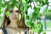 Summer face — Stock Photo