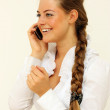 Call by phone — Stock Photo #1269396