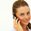 Call by phone — Stock Photo