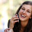 Calling by phone — Stock Photo #1269689