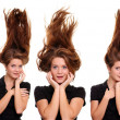 Stockfoto: Hair up