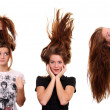 Hair beauty — Stock Photo