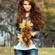 Autumn beauty woman — Stock Photo #1271822