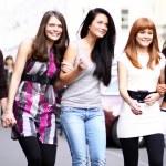 Urban fashion women — Stock Photo