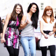 Stock Photo: Urban fashion women