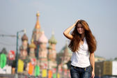 Moscow fashion — Stock Photo
