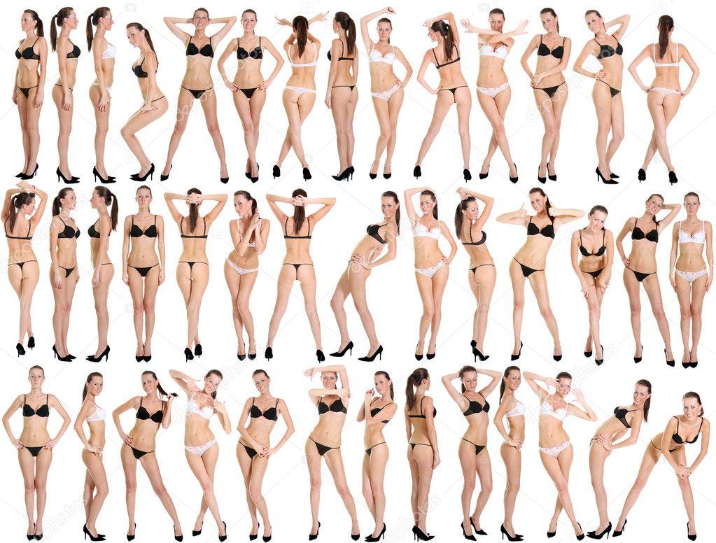 Разные леди показали себя без одежды  663324