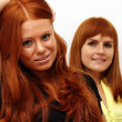 Stok fotoğraf: Red-haired couple
