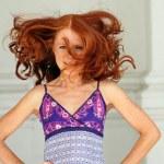 kızıl saçlı kız — Stok fotoğraf #1294623