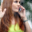 Stock Photo: Calling by phone