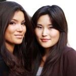 Two asian girls — Stock Photo