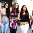 Urban women outdoor — Stock Photo