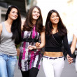 Stock Photo: Urban women outdoor