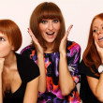 Rad hairs girlfriends — Stock Photo #1326225