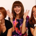 Rad hairs girlfriends — Stock Photo #1326231