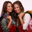 Shopping twins — Stockfoto #1326627