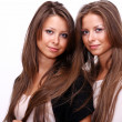 Twins girls - Stock Photo