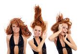 Hair style — Stock Photo