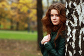 Russian beauty woman — Stock Photo