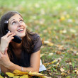 Calling by phone — Stock Photo #2497366