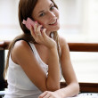Calling by phone — Stock Photo #2501976