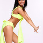 Dancing girl studio shot — Stock Photo #2505428