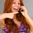 Redhair girl — Stock Photo