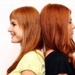 Red-haired couple — Stock Photo #2510956
