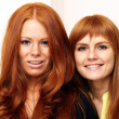 Red-haired couple — Stock Photo #2511132