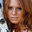 Red-haired girl — Stock Photo #2512552