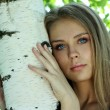 Russian beauty — Stockfoto