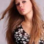 Fashion portrait of a professional model — Stock Photo #2515896