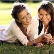 Twins of sister — Stock Photo #2516660