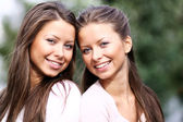 Couple sisters — Stock Photo