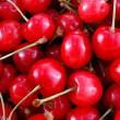 Red cherry - Stock Photo