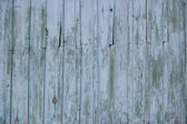 Wooden green old wall — Stock Photo