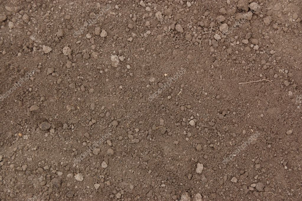 Spring soil on the field — Stock Photo #1183657