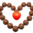 Royalty-Free Stock Photo: Chocolate heart