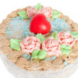Festive cream cake — Stock Photo #1183436