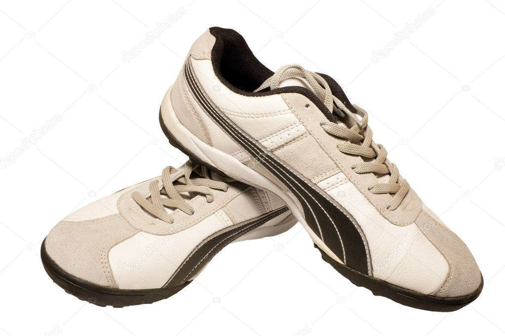 Sporting shoe of running shoe for going in for sports — Stock Photo #1182286
