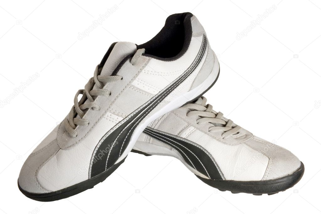 Sporting shoe of running shoe for going in for sports — Stockfoto #1182297