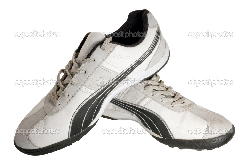 Sporting shoe of running shoe for going in for sports — Stock Photo #1182297